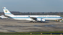 9K-GBB - Kuwait - Government Airbus A340-500 aircraft