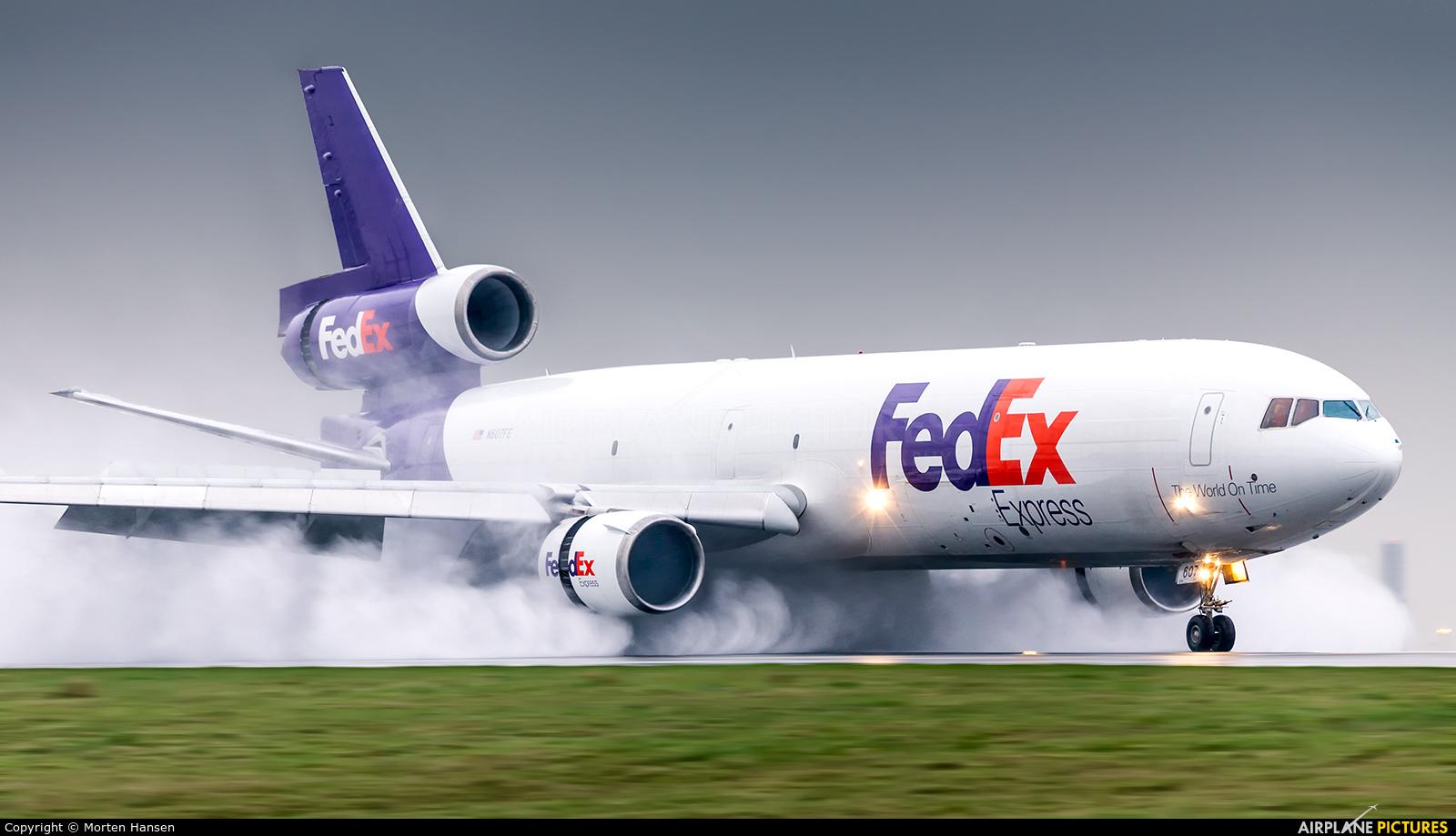 FedEx Federal Express N607FE aircraft at Paris - Charles de Gaulle