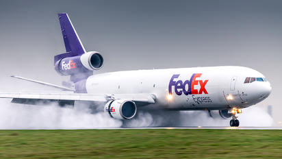 N607FE - FedEx Federal Express McDonnell Douglas MD-11F