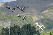 HB-RVP - Fliegermuseum Altenrhein Hawker Hunter T.68 aircraft