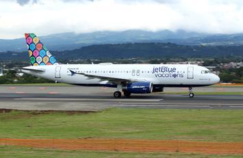 N648JB - JetBlue Airways Airbus A320