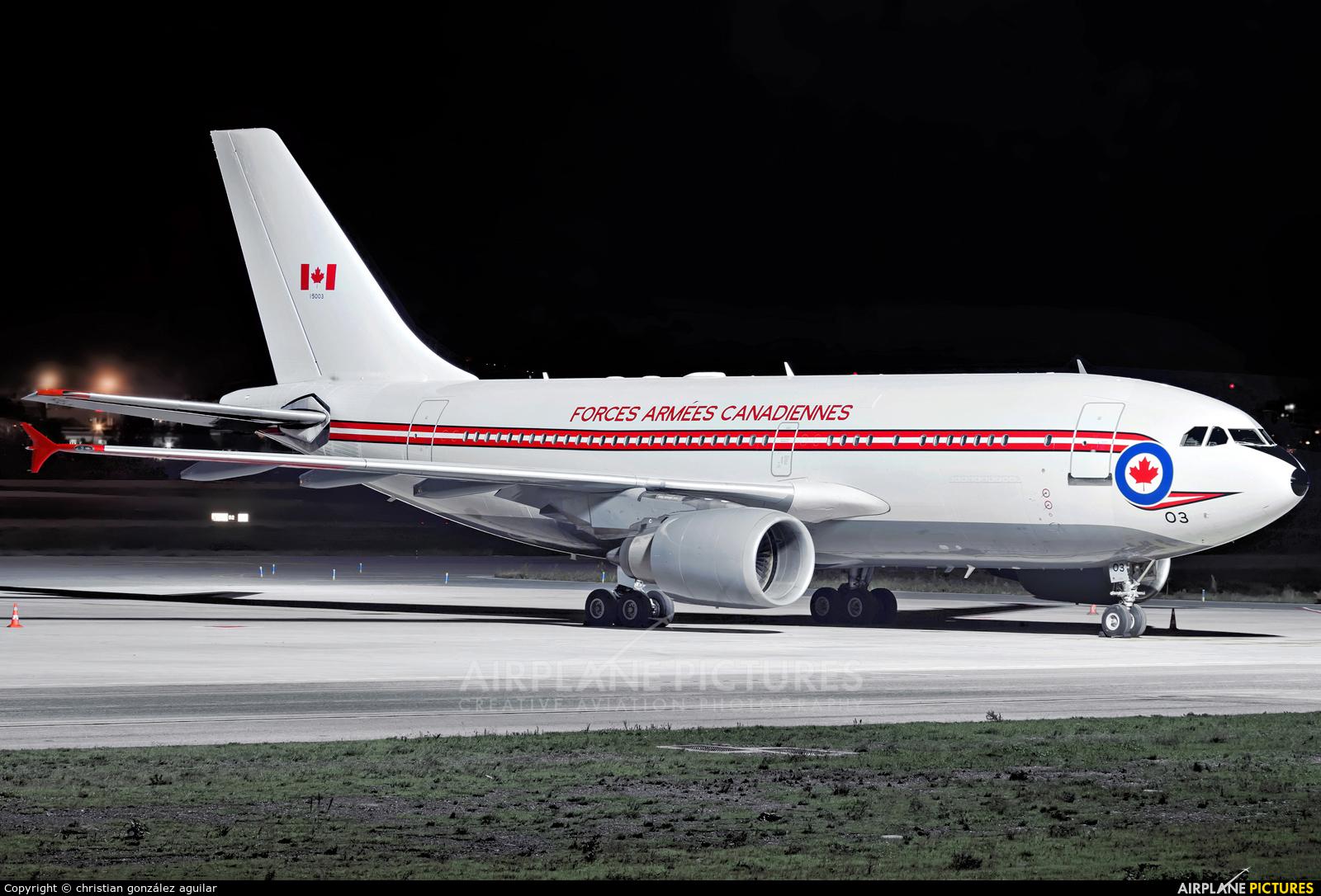 Canada - Air Force 15003 aircraft at Málaga