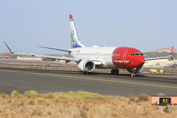 EI-FYD - Norwegian Air International Boeing 737-8 MAX