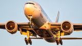 Emirates Sky Cargo Boeing 777F A6-EFD at Frankfurt airport