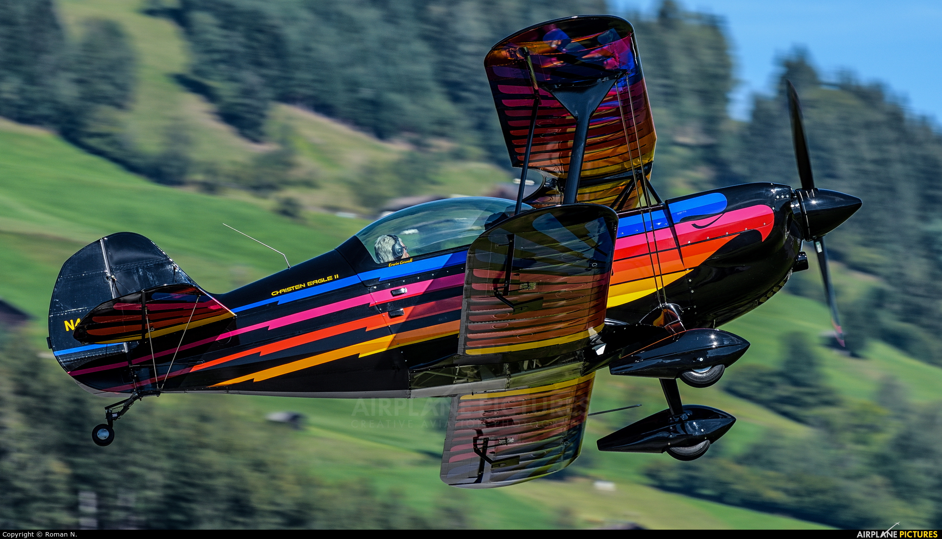 Private N49AE aircraft at Zell am See