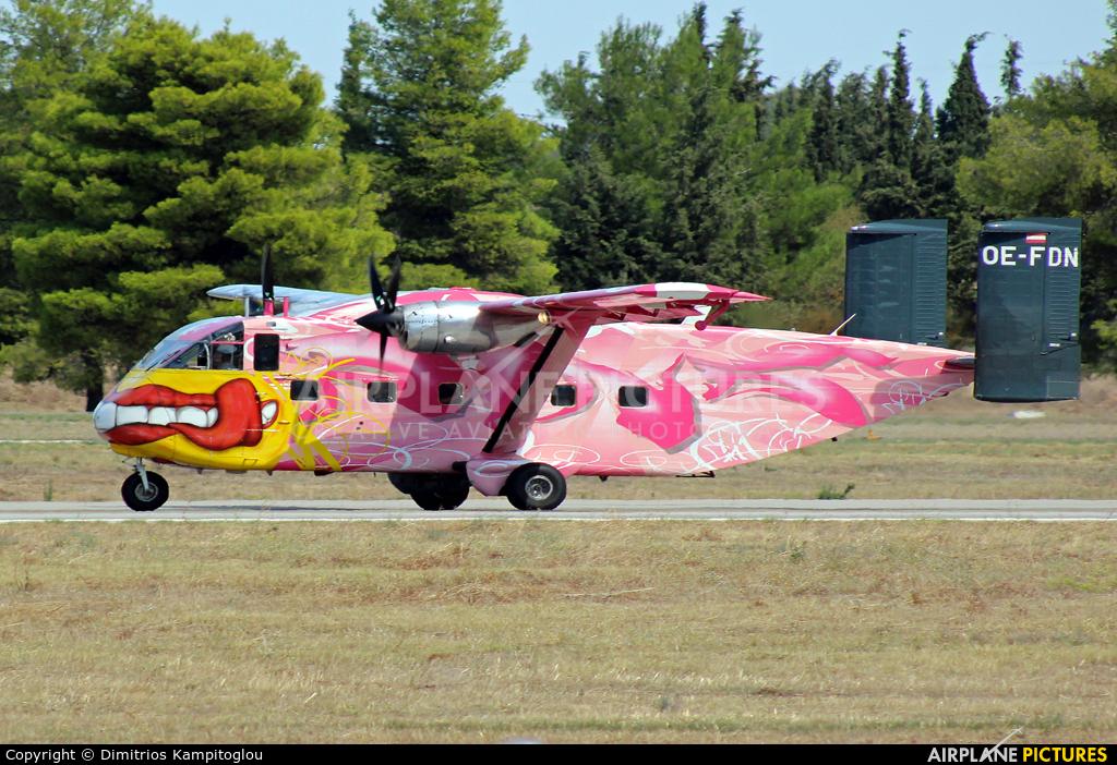 Pink Aviation OE-FDN aircraft at Tanagra