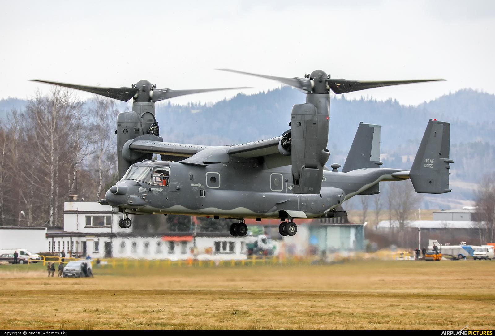 USA - Air Force 12-0065 aircraft at Nowy Targ