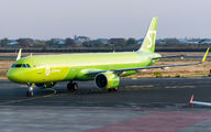 VQ-BDU - S7 Airlines Airbus A321 NEO aircraft