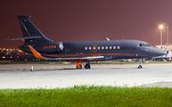 LX-EVM - Global Jet Luxembourg Dassault Falcon 2000 DX, EX aircraft