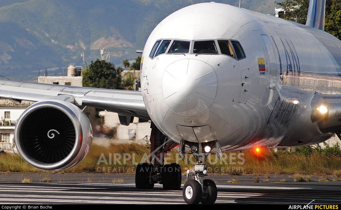 LAN Cargo N418LA aircraft at Guatemala - La Aurora