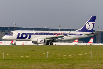 SP-LII - LOT - Polish Airlines Embraer ERJ-175 (170-200)