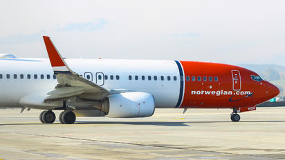 LN-NGG - Norwegian Air Shuttle Boeing 737-800