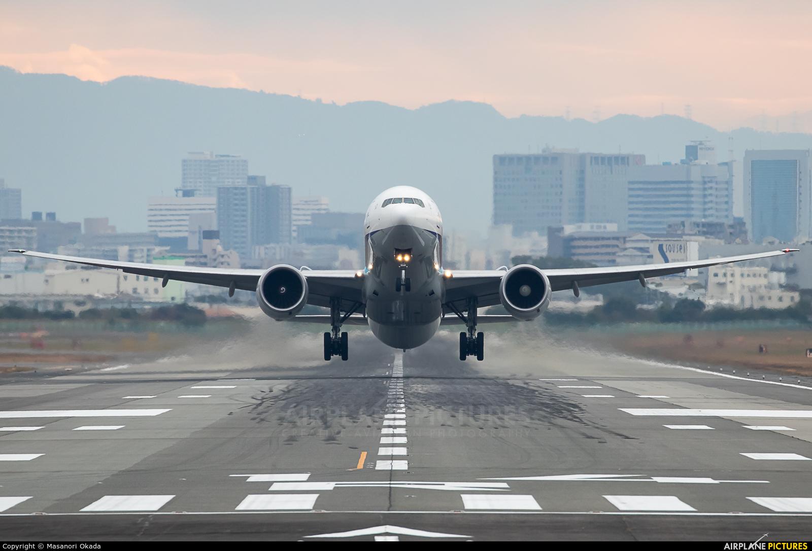 ANA - All Nippon Airways JA779A aircraft at Osaka - Itami Intl