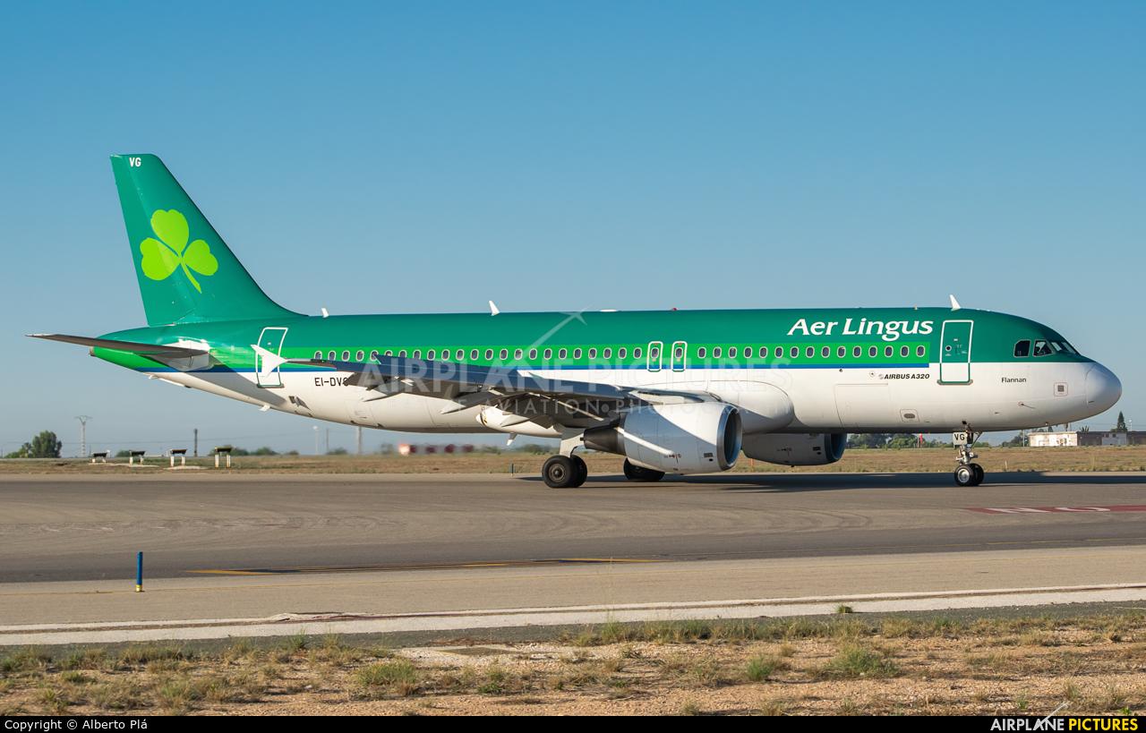 Aer Lingus EI-DVG aircraft at Alicante - El Altet