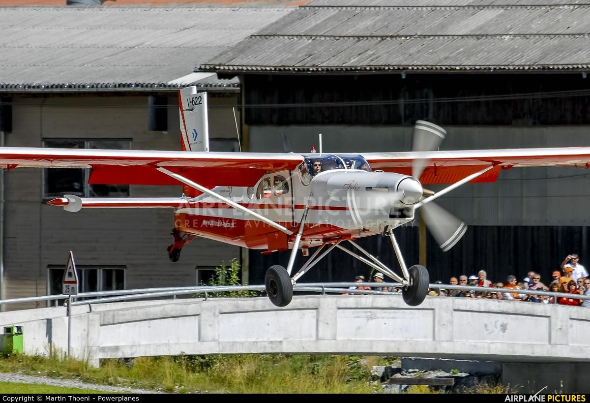 Switzerland - Air Force V-622 aircraft at St. Stephan