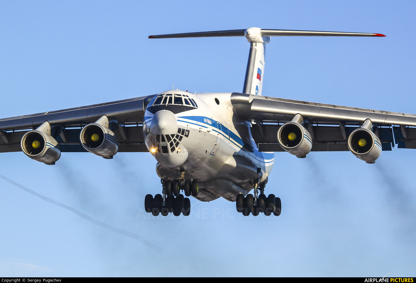 Russia - Air Force RA-78762 aircraft at Voronezh / Pridacha