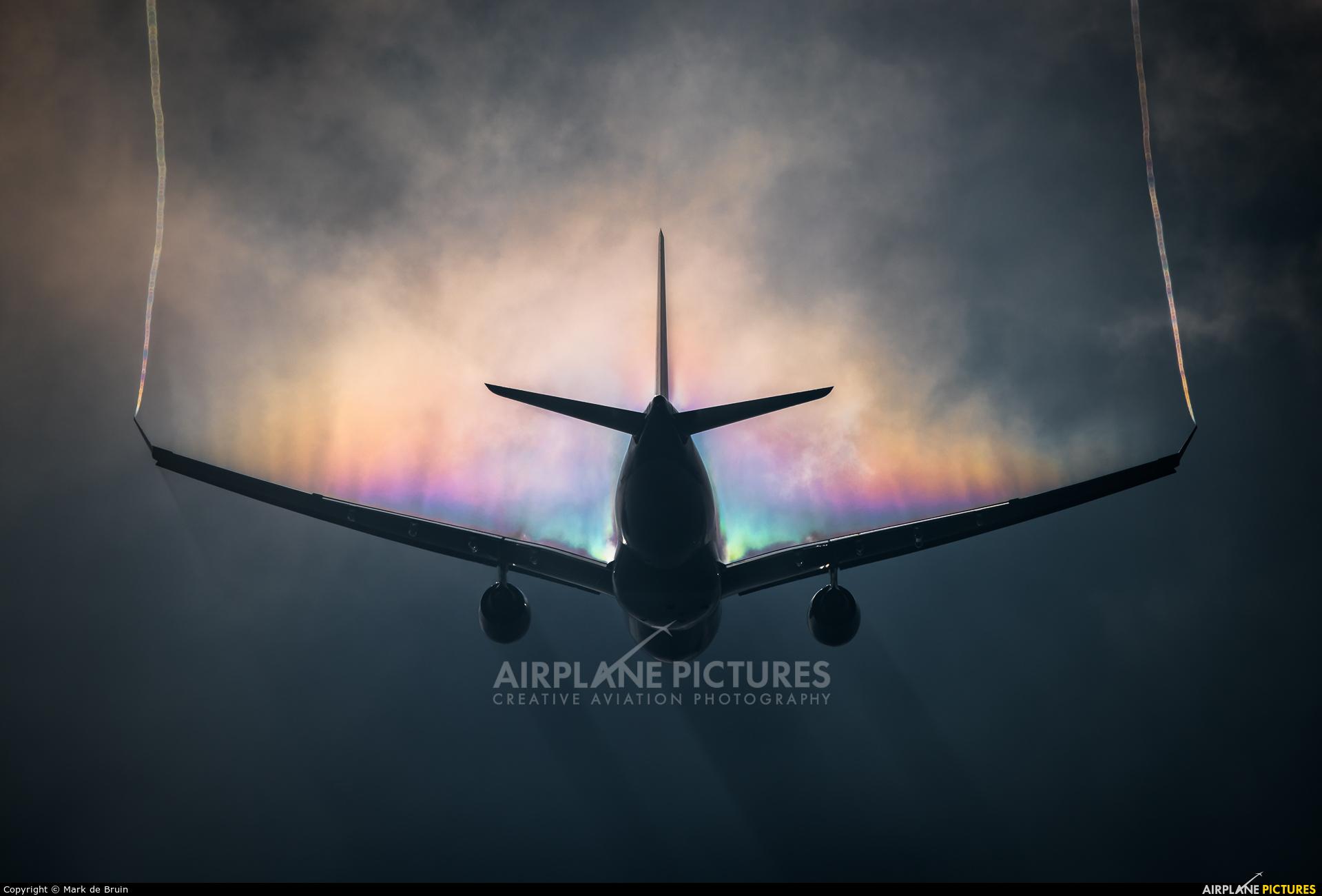 KLM PH-AOA aircraft at Amsterdam - Schiphol