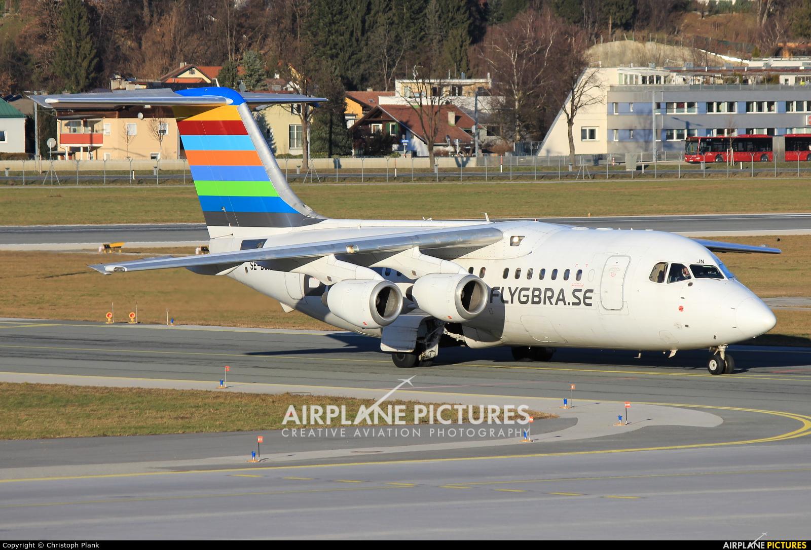 BRA (Sweden) SE-DJN aircraft at Innsbruck