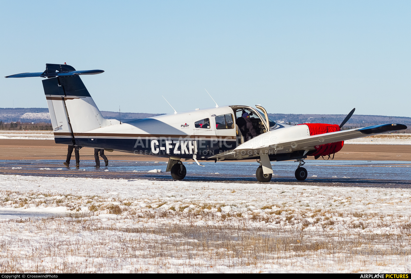 Private C-FZKH aircraft at greater Moncton International