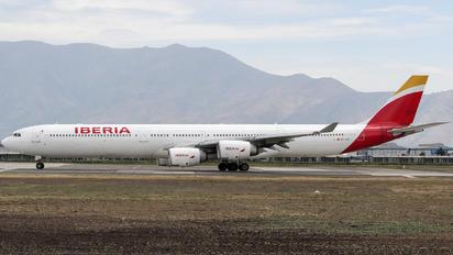 EC-JCZ - Iberia Airbus A340-600