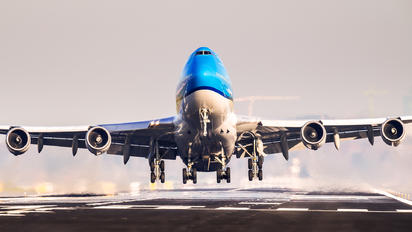 PH-BFW - KLM Boeing 747-400