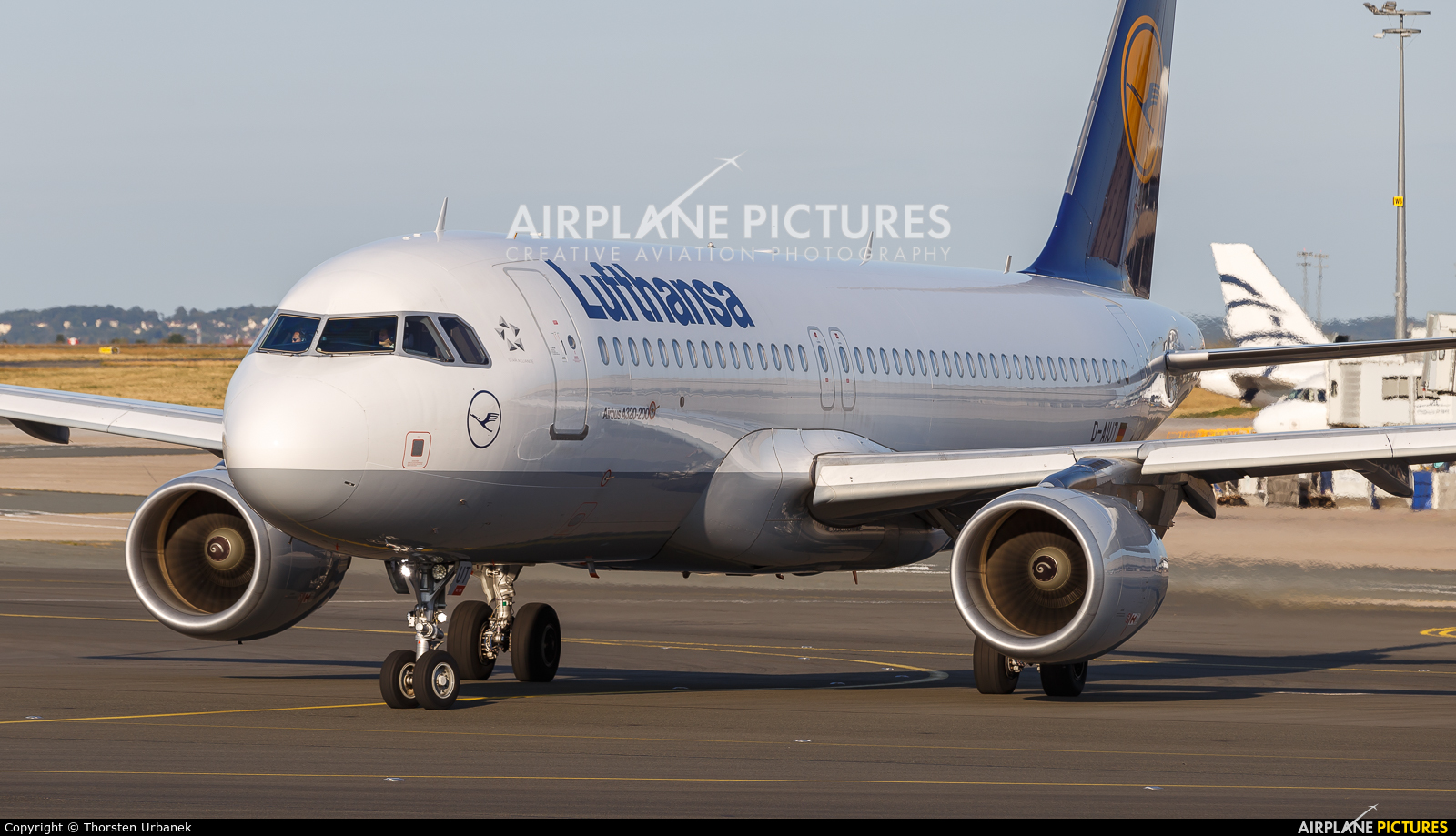 Lufthansa D-AIUT aircraft at Paris - Charles de Gaulle