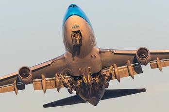 PH-CKB - KLM Cargo Boeing 747-400F, ERF