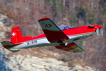 A-918 - Switzerland - Air Force Pilatus PC-7 I & II