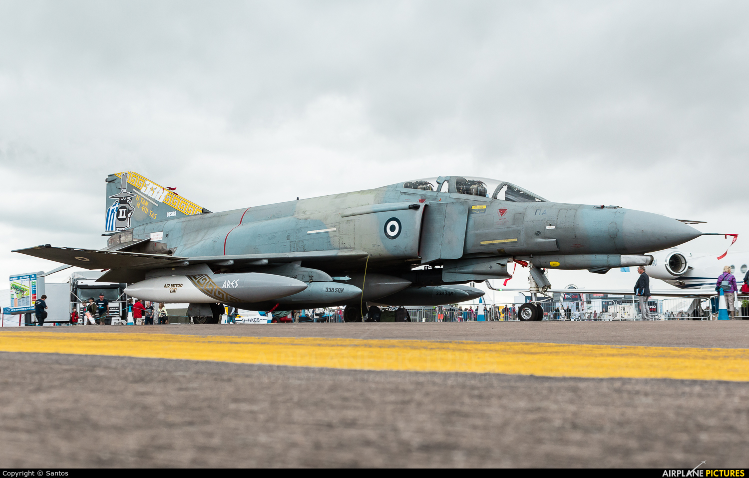 Greece - Hellenic Air Force 01508 aircraft at Fairford