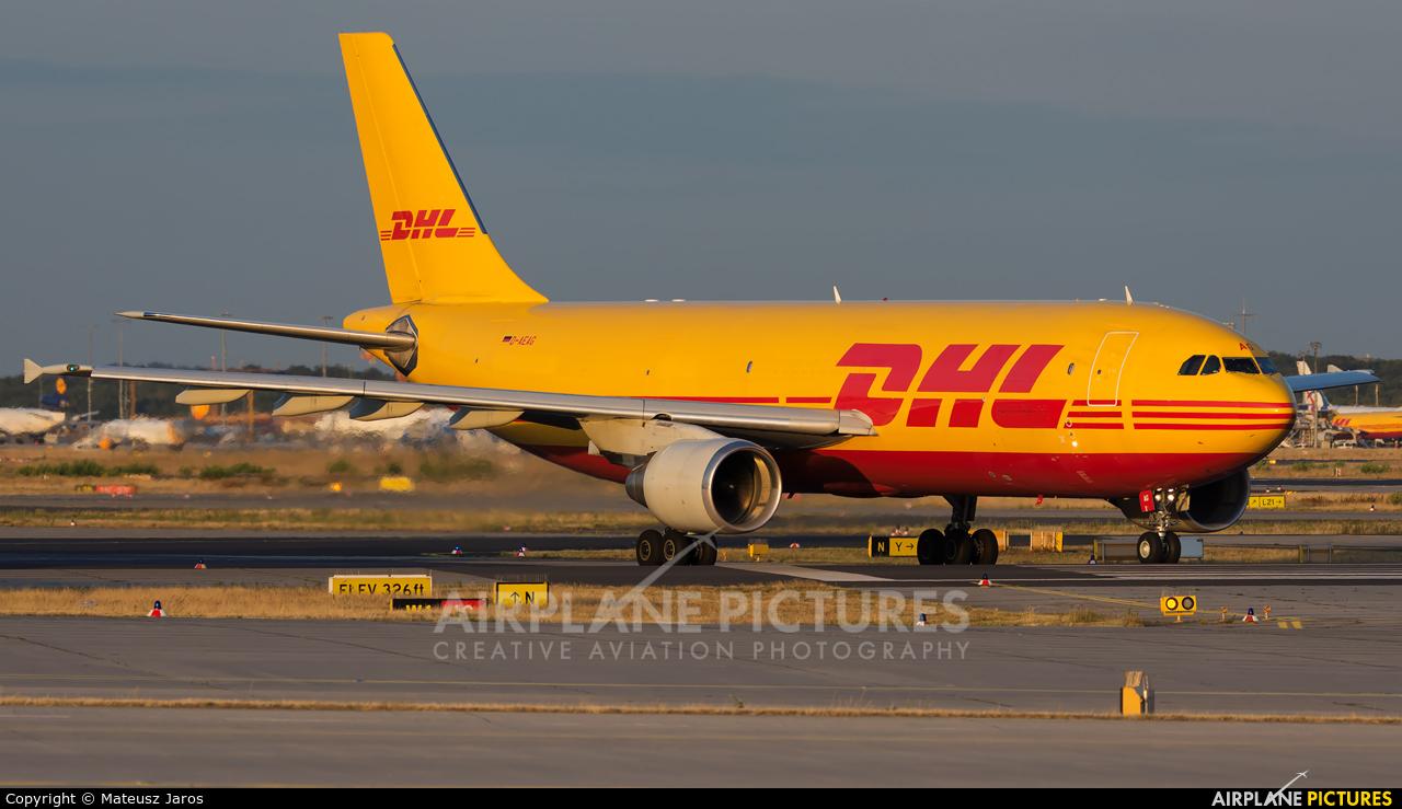 DHL Cargo D-AEAG aircraft at Frankfurt