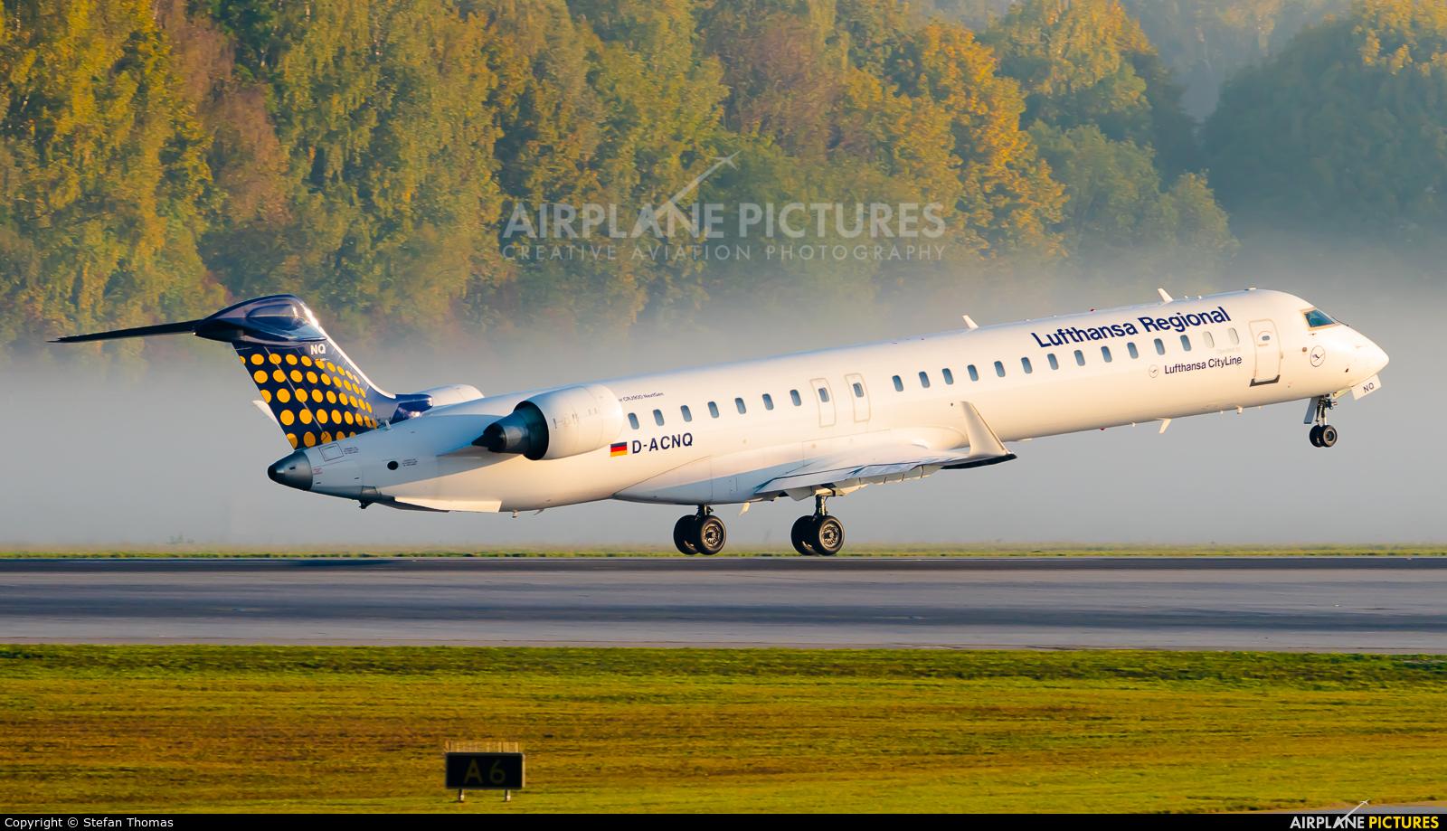 Lufthansa Regional - CityLine D-ACNQ aircraft at Munich