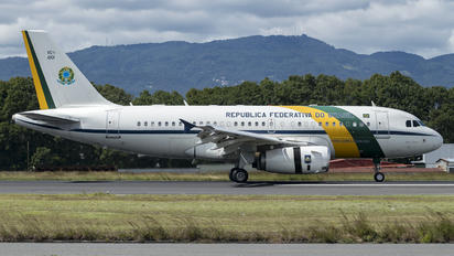 2101 - Brazil - Air Force Airbus A319 CJ