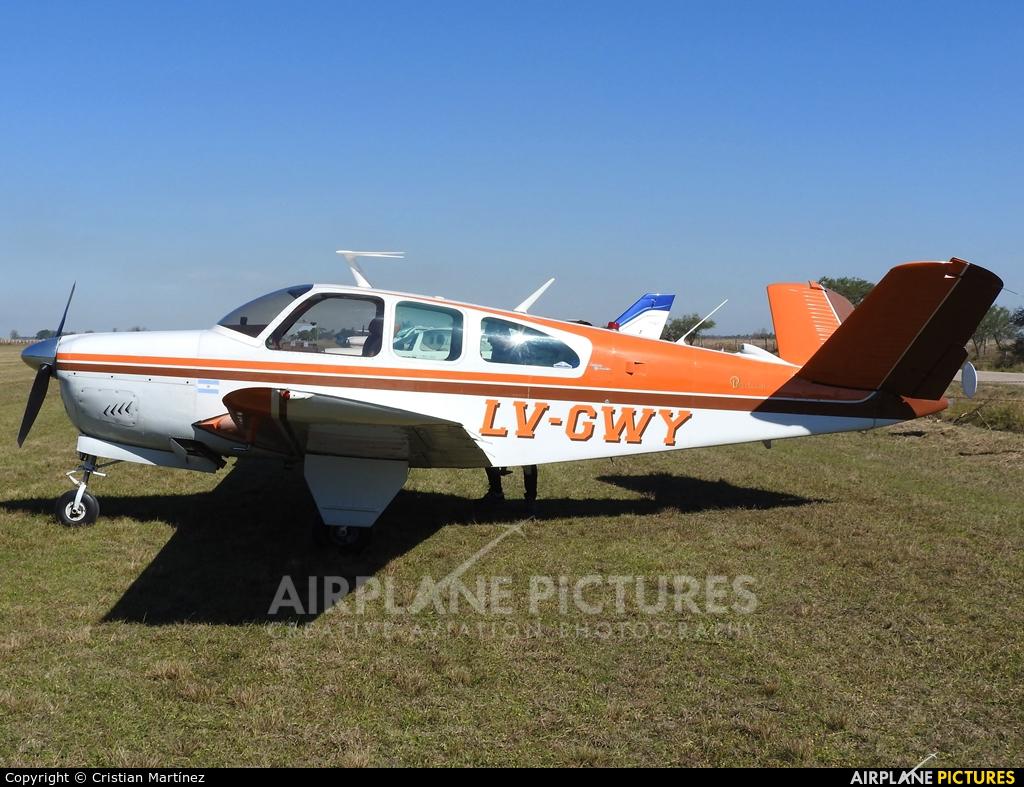 Private LV-GWY aircraft at Santa Fe - Villa Ocampo