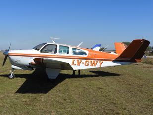 LV-GWY - Private Beechcraft 35 Bonanza V series
