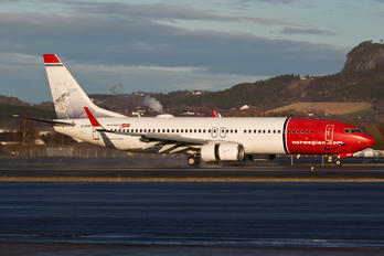 EI-FHP - Norwegian Air Shuttle Boeing 737-800