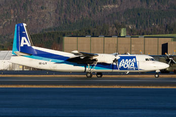 SE-LJY - AmaPola Flyg Fokker 50F