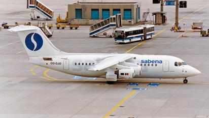 OO-DJO - Sabena British Aerospace BAe 146-200/Avro RJ85