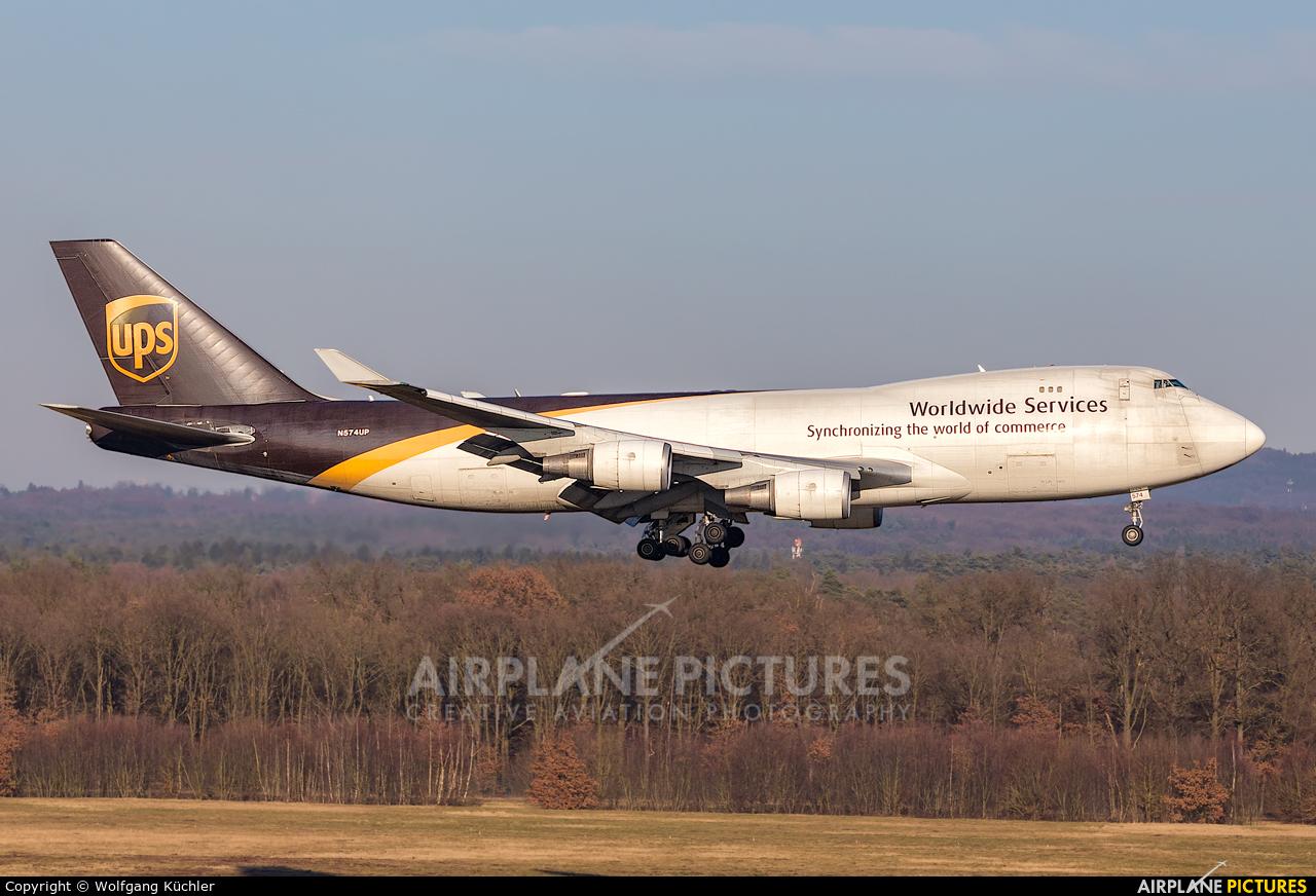 UPS - United Parcel Service N574UP aircraft at Cologne Bonn - Konrad Adenauer