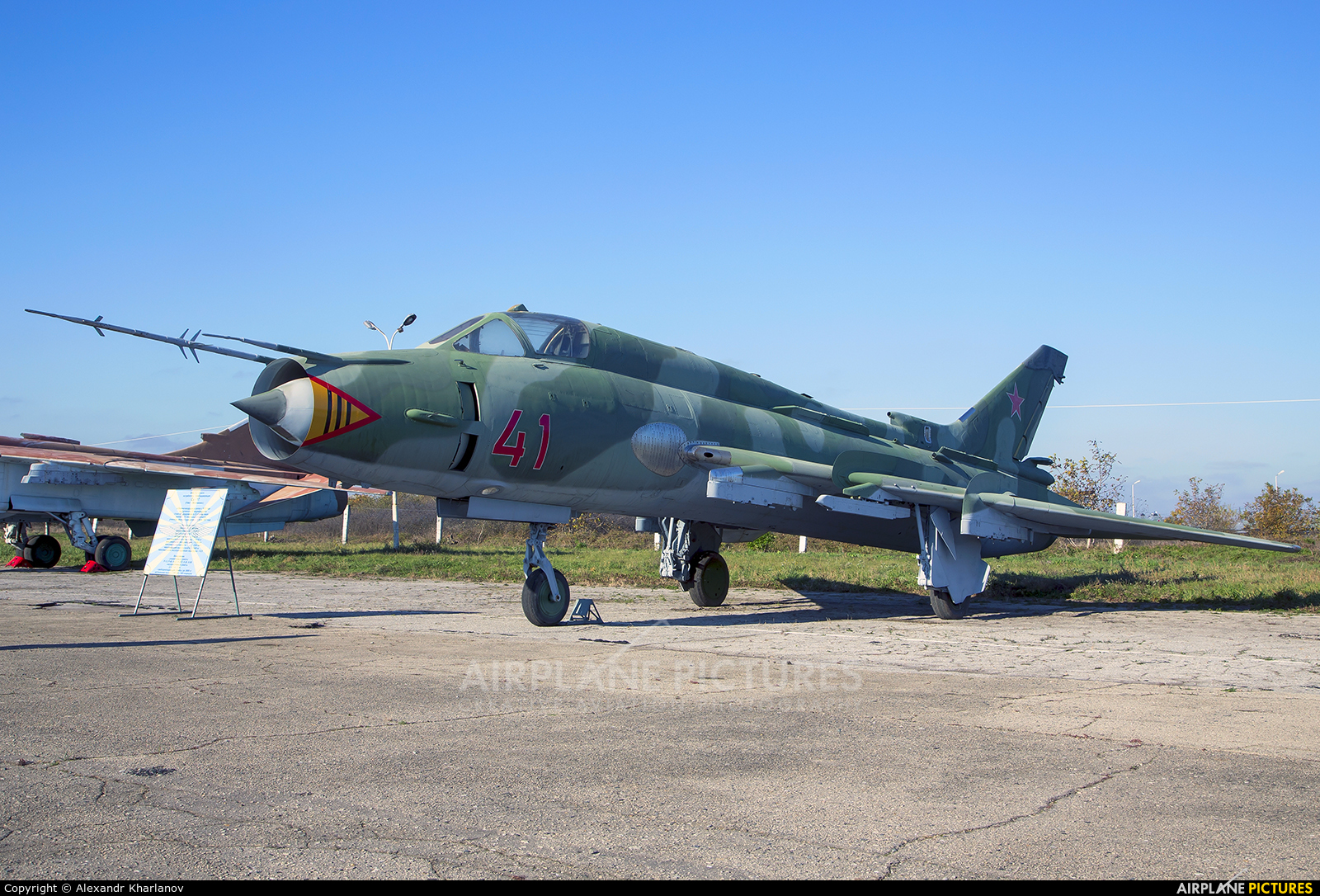 Russia - Air Force 41 aircraft at Krasnodar Tsentralny