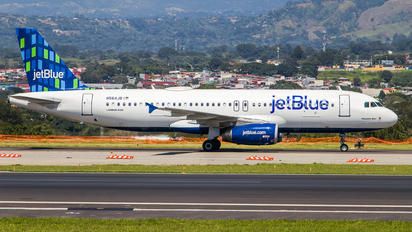 N564JB - JetBlue Airways Airbus A320
