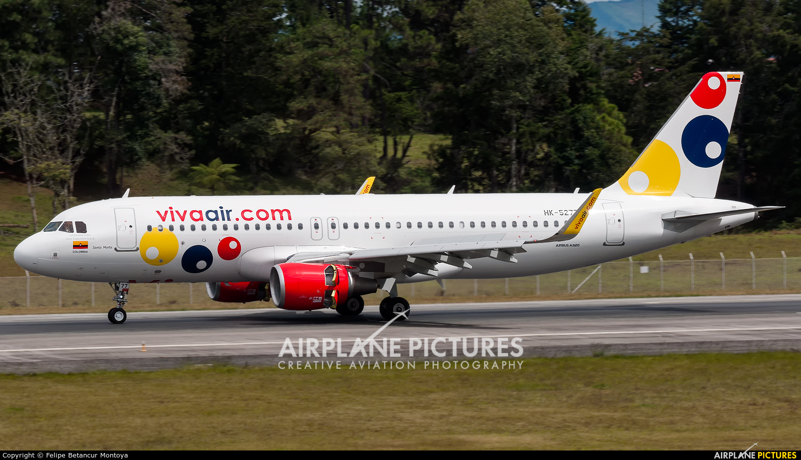 Viva Air HK-5277 aircraft at Medellin - Jose Maria Cordova Intl