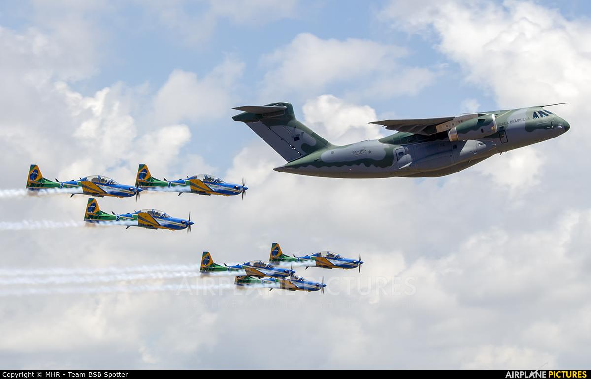 Embraer PT-ZNG aircraft at Brasília - Presidente Juscelino Kubitschek Intl