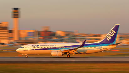 JA54AN - ANA - All Nippon Airways Boeing 737-800