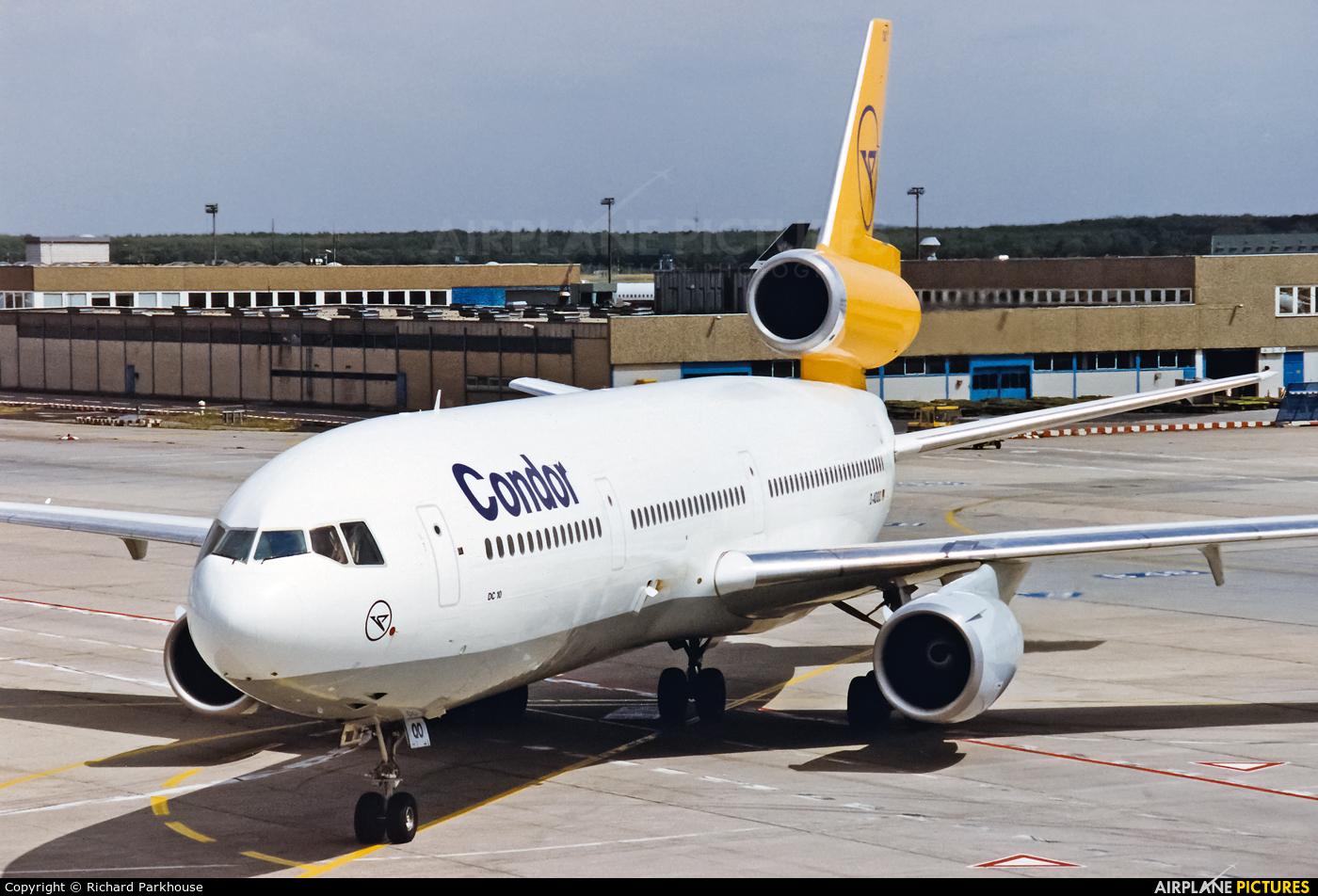Condor D-ADQO aircraft at Frankfurt
