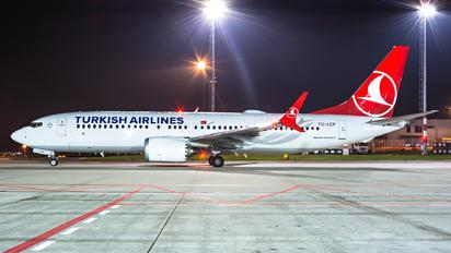 TC-LCF - Turkish Airlines Boeing 737-8 MAX