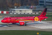 Brussels A320 brought national football team to Zurich title=
