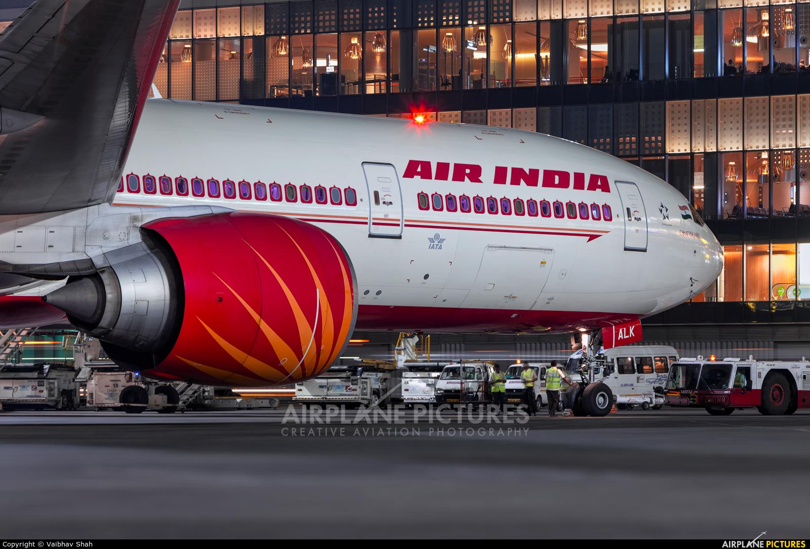 Air India VT-ALK aircraft at Mumbai - Chhatrapati Shivaji Intl