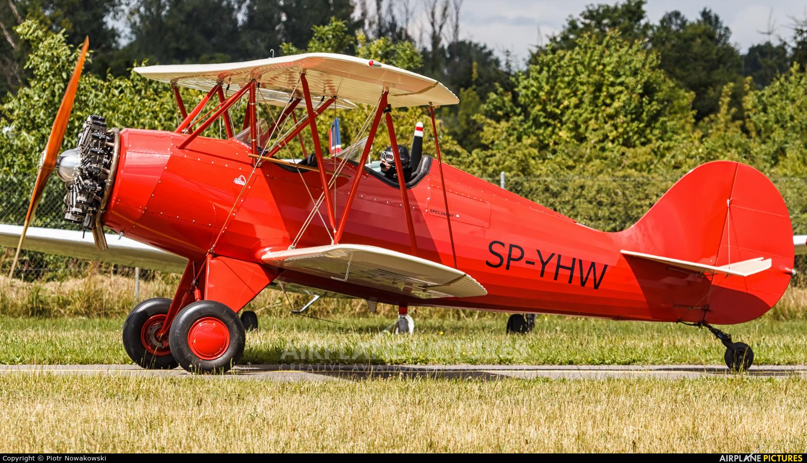 Private SP-YHW aircraft at Piotrków Trybunalski
