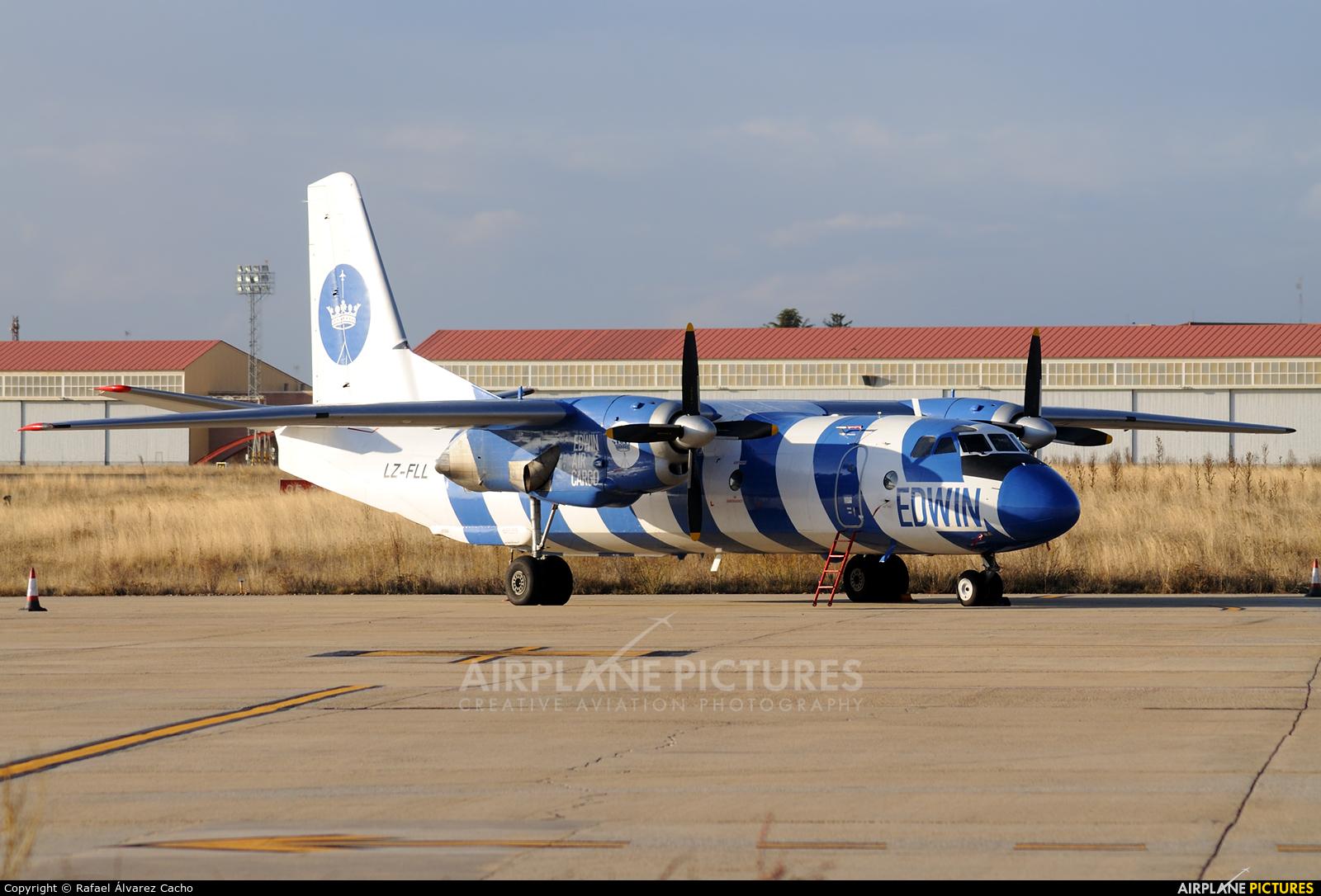 Bright Flight LZ-FLL aircraft at Valladolid - Villanubla