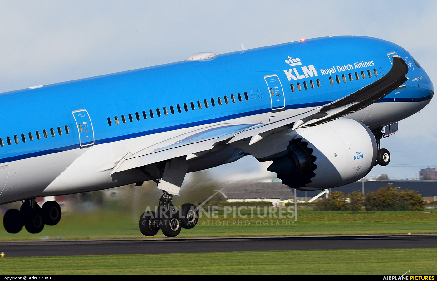 KLM PH-BHE aircraft at Amsterdam - Schiphol